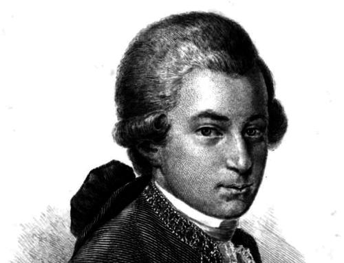 Die tägliche Routine von Mozart