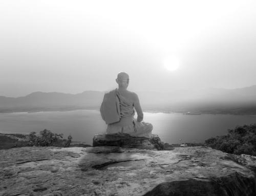"""Dieser """"negative Gedanke"""" kann Dein Leben bereichern (eine buddhistische Übung)"""
