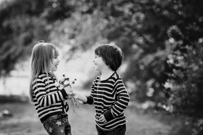 Was Liebe für 4- bis 8-Jährige bedeutet
