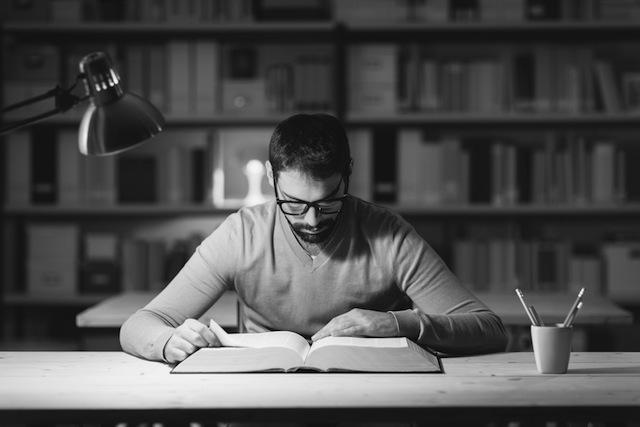 Die Arbeits-Routine eines legendären Schriftstellers