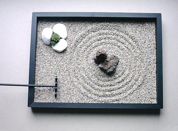 ein zen-garten für daheim | mymonk.de, Garten und bauen